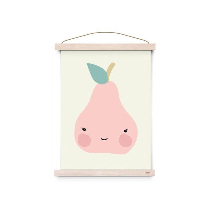 eef lillemor pear poster