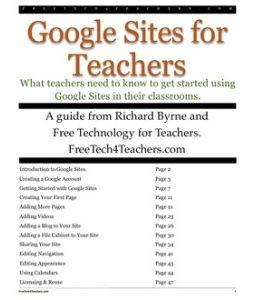 Google Sites for Teachers 2012