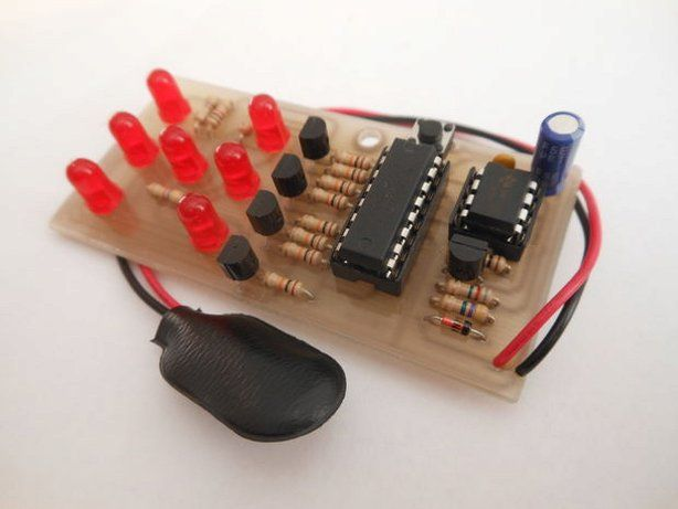 Make your own electronic dice. No one can cheat!