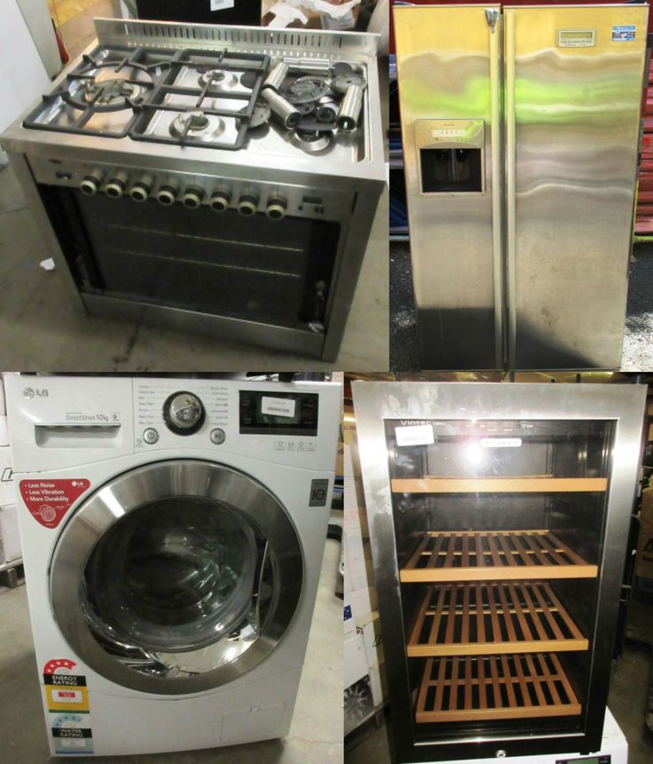 BIG BRAND Whitegoods Salvage Equipment - score an abundance of appliances for less including some lots that are completely unreserved!