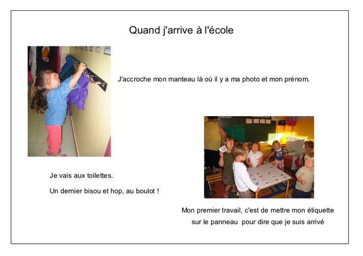 L'école de Léon - arrivée