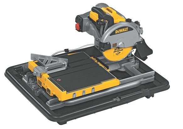 Dewalt D24000 1 5 Horsepower 10 Inch Wet Tile Saw Tile Saw