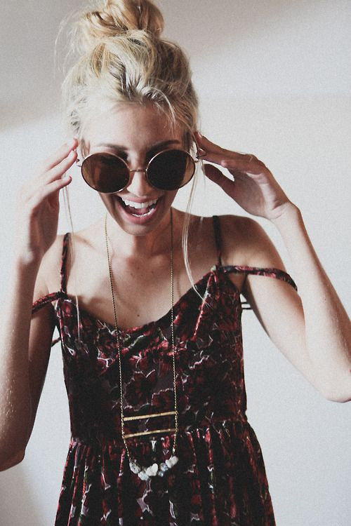 Lentes de sol para cada persona... ¡Estos redondos están topísimos! ¿Sabías que este modelo es ideal para las chicas que tienen el rostro con forma cuadrada?