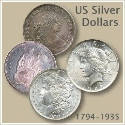 US Silver Dollar Coins