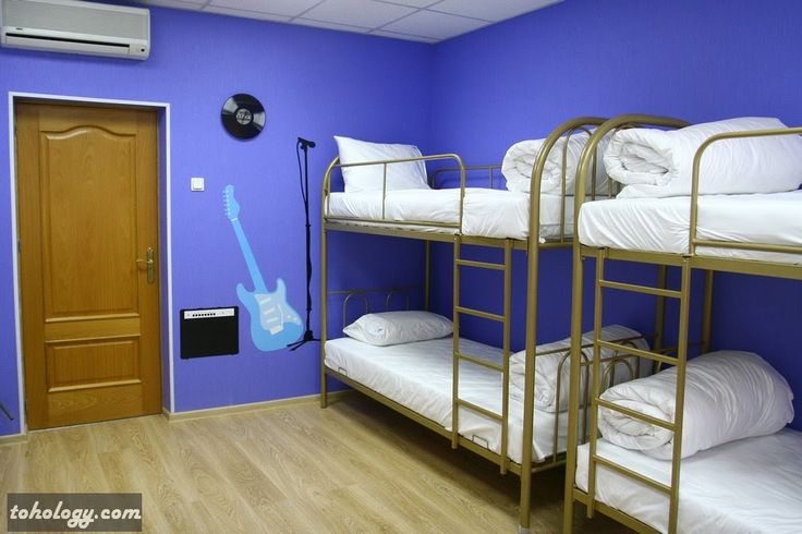 Giggly Hostel, Music Room (St.Petersburg, Russia)