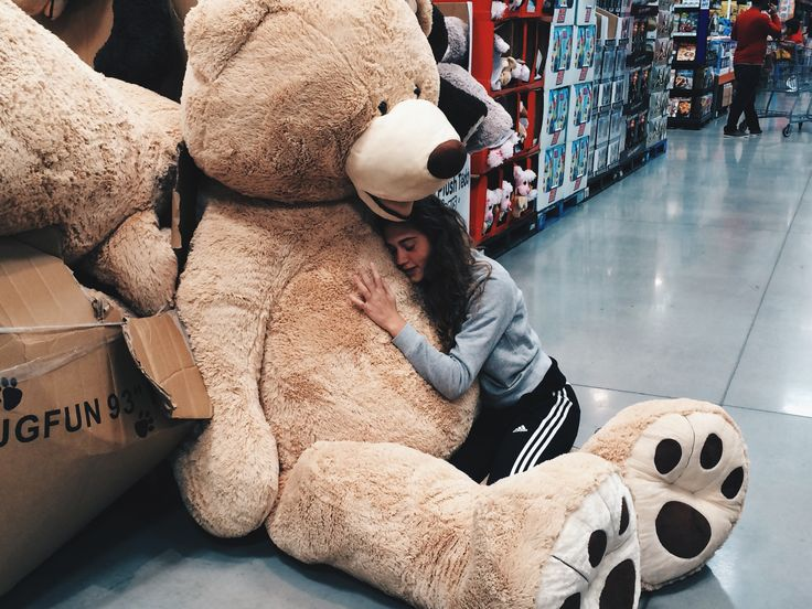 "Giant 93"" Costco bear a must have! ❤️"