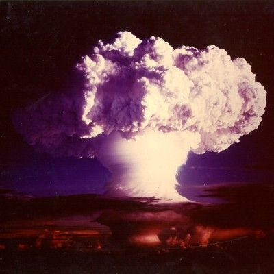 """The world's first hydrogen bomb """"Ivy Mike"""" was detonated by the United States on the Eniwetok atoll in the Pacific in 1952."""