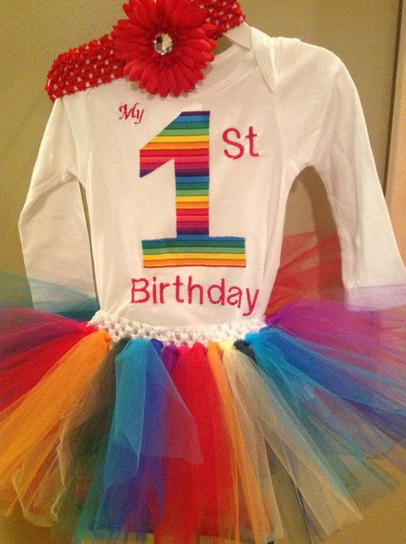 Hey, I found this really awesome Etsy listing at https://www.etsy.com/listing/120734256/circus-themed-rainbow-tutu-clown