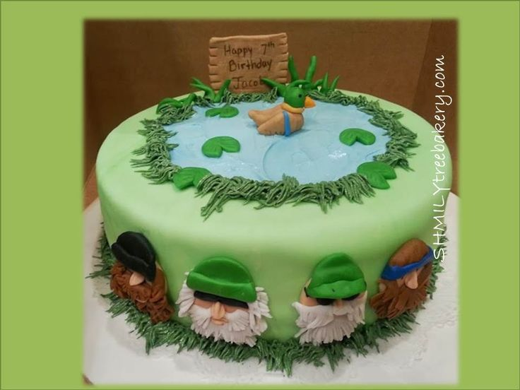 76 best Duck dynasty images on Pinterest Duck dynasty cakes Duck