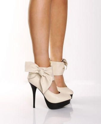 lovely: Fashion, Style, Clothes, Bows, Things, Closet, High Heels, Shoes Shoes, Bow Heels