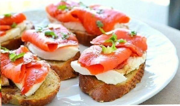 Sandwiches for breakfast.