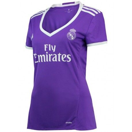 Camiseta del Real Madird para Mujer Away 2016 2017