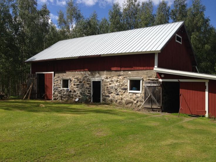 A beautiful old barn in Kitee...