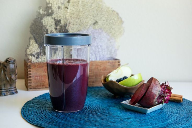Beet and Wild Blueberry Surprise