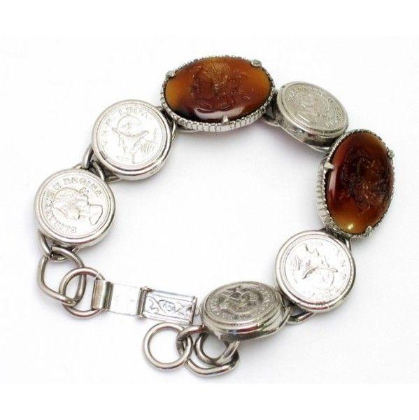 Florenza Caramel Intaglio Bracelet