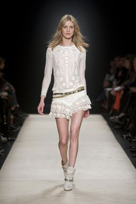 Isabel MarantIsabelmarant, Fall Style, Marant Fall, Fall 2012, Westerns Boots, Music Festivals Fashion, White Lace, Isabel Marant, Lace Dresses