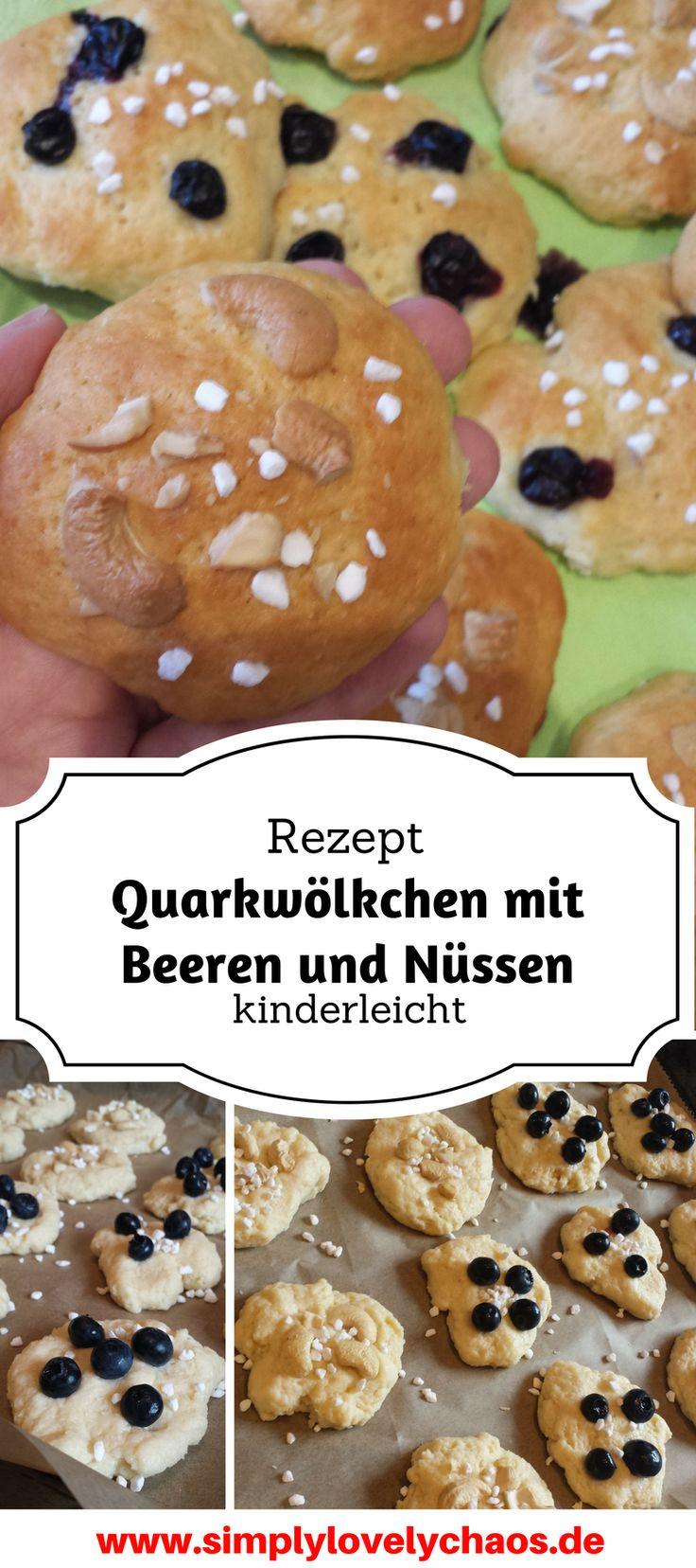 Quarkwölkchen Rezept – mit Beeren, Nüssen oder Schokolade