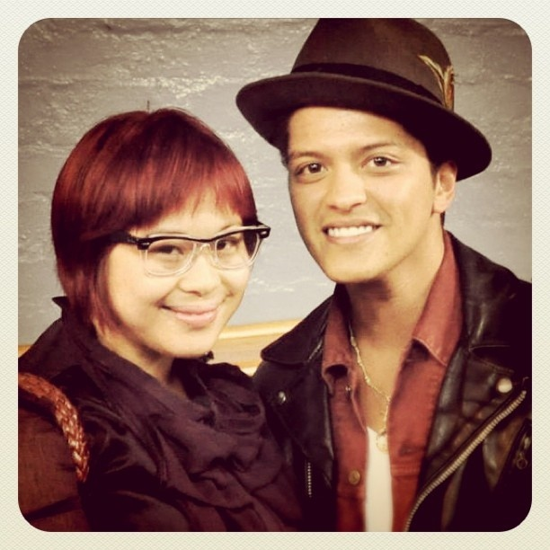 During the Melbourne leg of his Australian tour, I got to meet Bruno Mars. Let's just say I have magical whinging powers. He was quite lovely, and he put on a FANTASTIC show. I can't wait to see him play again!  #BrunoMars #Melbourne #Hooligan #Hooligans