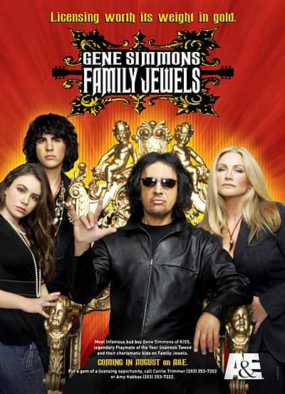 Gene Simmons Family Jewels is funny and charming.  The entire family demonstrates an intelligence rarely found on reality shows, and their dry humor is consistently fresh and entertaining.  This is the only reality show I watch on television.