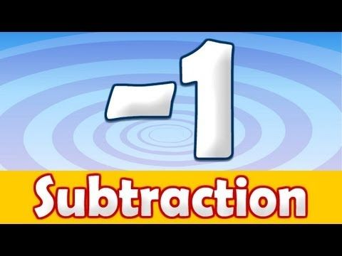 Subtraction -1 Song for Kids ♫