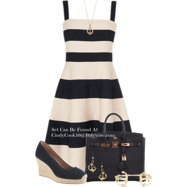 Summer Dress, created by cindycook10 on Polyvore