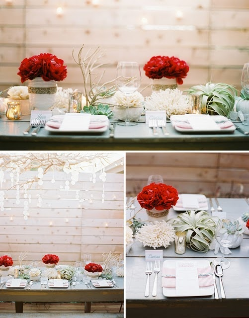 435 best Christmas Table Setting images on Pinterest | Napkins, Tray ...