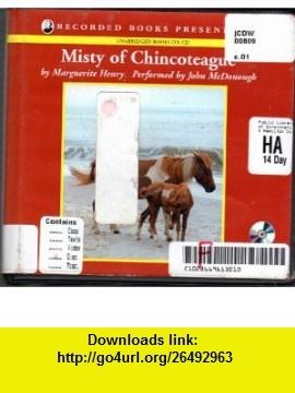 Misty of Chincoteague [Unabridged] (9780788737336) Marguerite henry, John McDonough , ISBN-10: 0788737333  , ISBN-13: 978-0788737336 ,  , tutorials , pdf , ebook , torrent , downloads , rapidshare , filesonic , hotfile , megaupload , fileserve