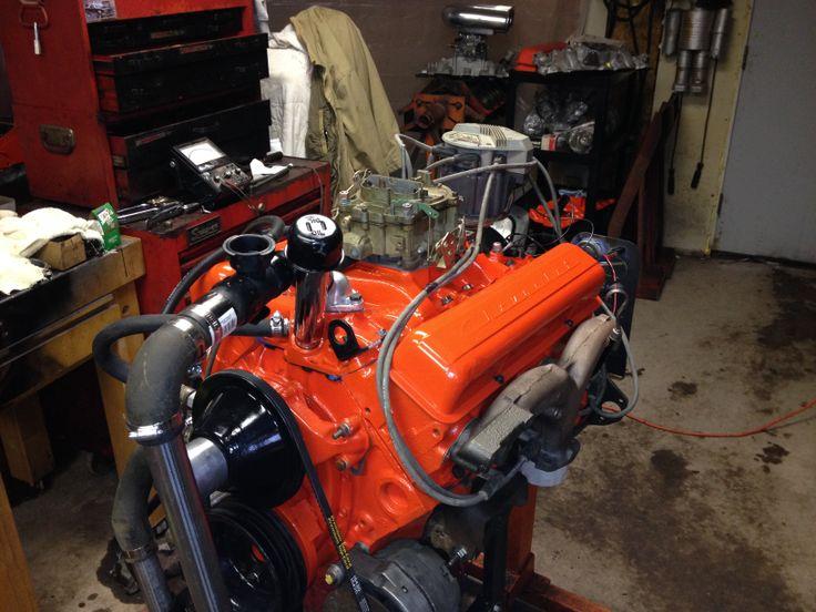 Rams Horn Exhaust 283 4 Barrel Chevy Small Blocks