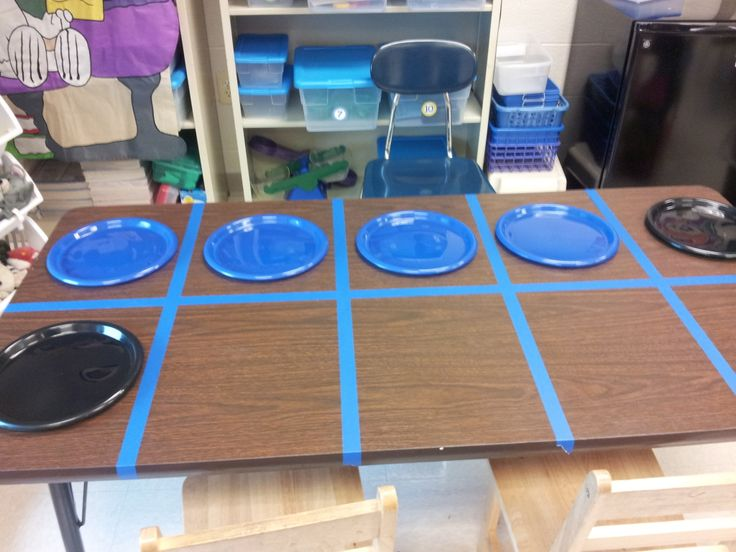 Strive to Sparkle: Ten Frame Table