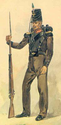 """portuguese soldier """"Caçador"""""""