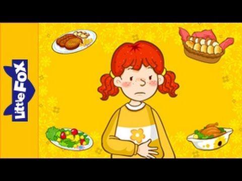 Nu veel engelse liedjes voor kleuters (met video) op kleuteridee.nl I'm Hungry - Learn English for Kids Song by Little Fox
