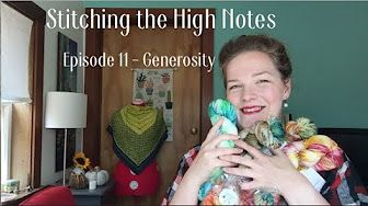 Stitching the High Notes - YouTube
