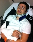 Kris Allen car crash & undergoing surgery..praying for that boy!