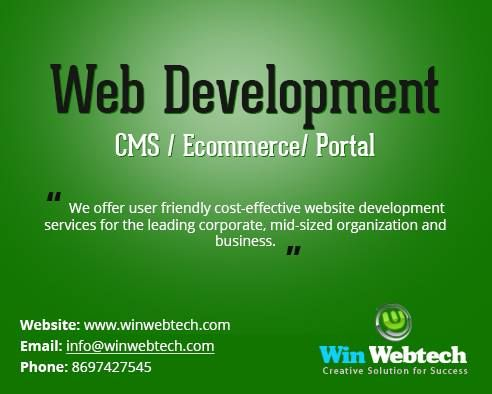 We are offering web development service at best price. Contact us now.