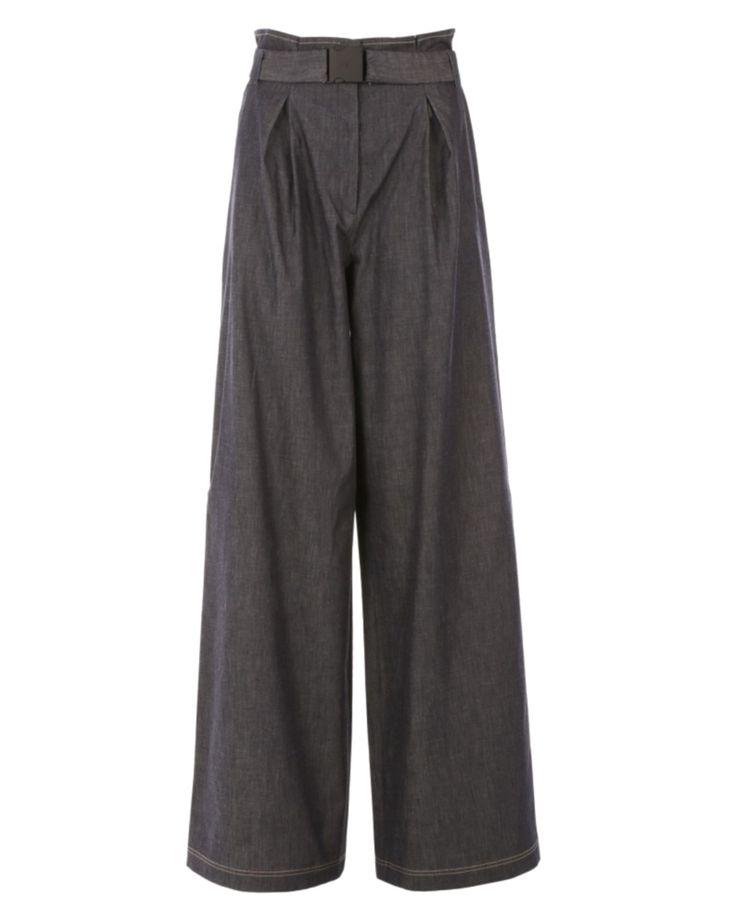 Trousers Palazzo Denim