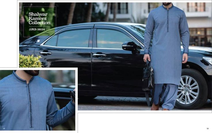 Latest J. Shalwar Kameez Collection 2018-2019 For Men