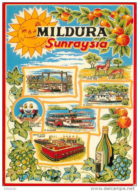 postcards of sunraysia - Google Search