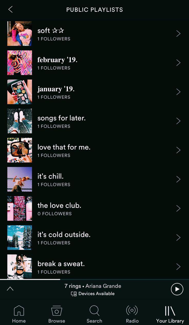 Spotify abbydance1313 Playlist names ideas, Vibe song