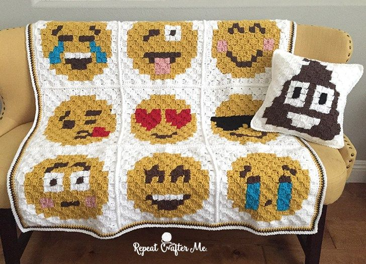 21 best Emojis images on Pinterest | Crochet blankets, Bricolage and ...