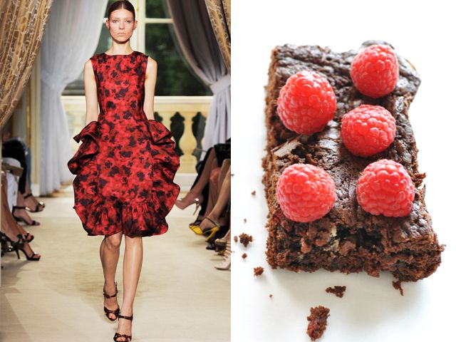 Giambattista Valli Haute Couture fw 2012 / Raspberry Brownies