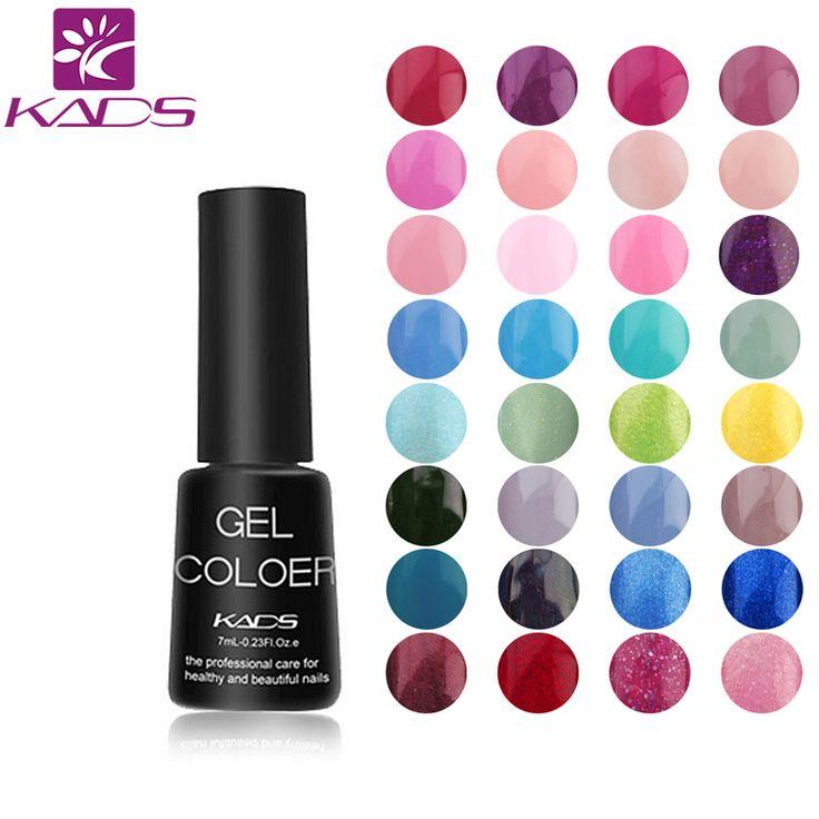 Kads gel cat kuku gel uv rendam off gel lacquer Polish 7 ml Tahan Lama Gel Kuku untuk nail art Kecantikan alat