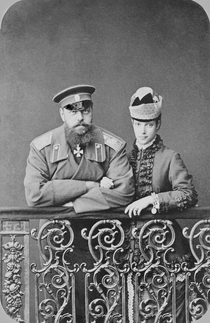 Tsar Alexander III and Empress Marie Feodorovna | Royal Collection Trust