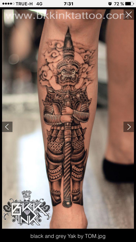 Thai mythology tattoo