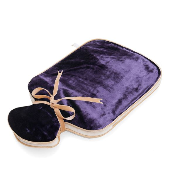 Holistic silk hot water bottle with lavender