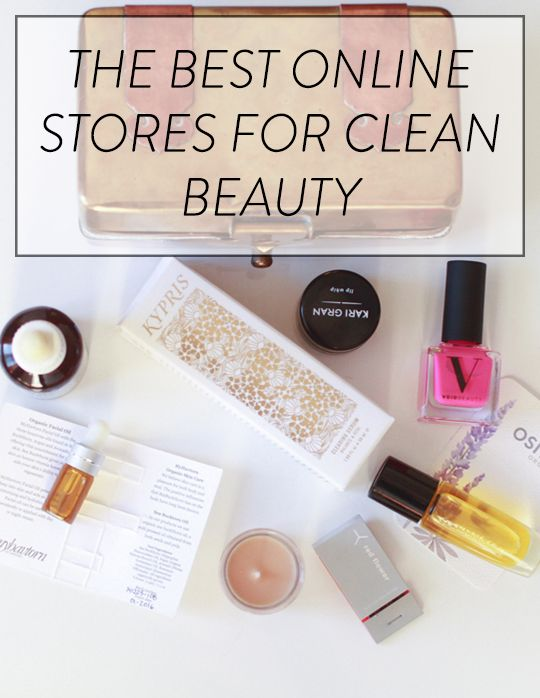 The best stores online for finding non-toxic beauty and skincare!