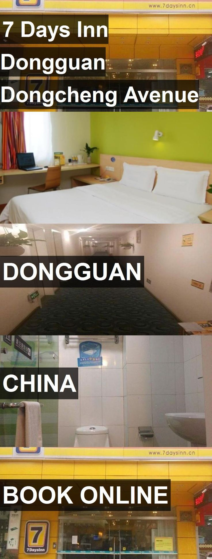 Hotel 7 Days Inn Dongguan Dongcheng Avenue Pedestrian Street in Dongguan, China. For more information, photos, reviews and best prices please follow the link. #China #Dongguan #travel #vacation #hotel