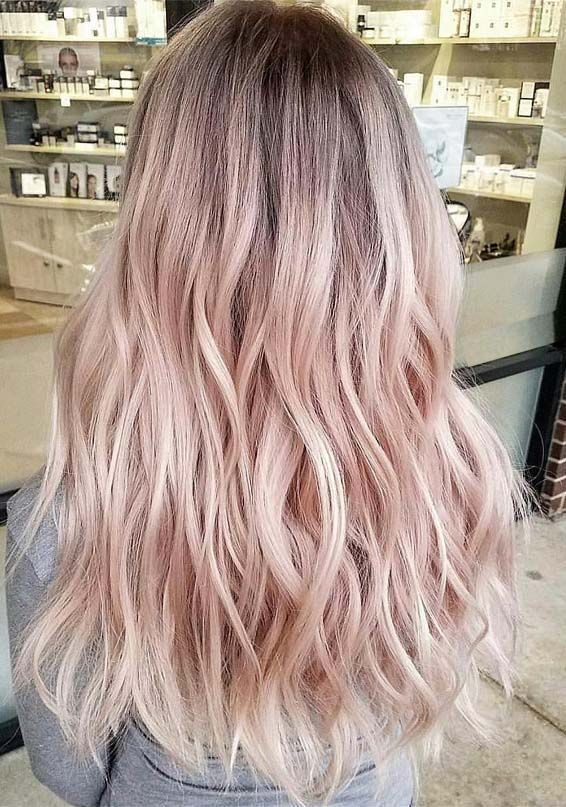 Summer Hair Inspiration Summer Haircolor Summer Hair Colour Summer Hairstyles Styles Coloring Updo Long Hair Color Pink Pink Blonde Hair Light Pink Hair