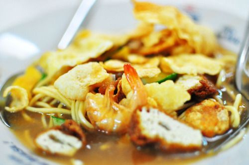 Mie Belitung, a specialty noodle from Belitung island