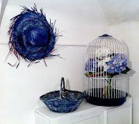 Tis Do it Yourself - interiorismo low cost: El rincón azul del balancín…