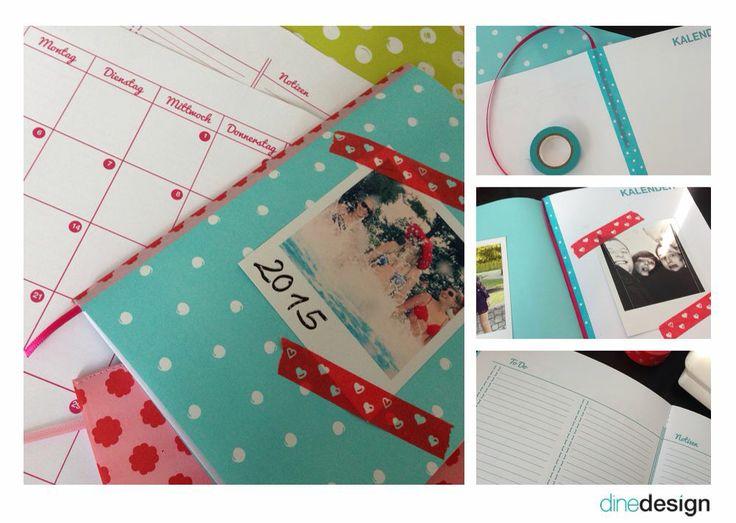 Mer enn 25 bra ideer om Kalender selber basteln på Pinterest - k chenkalender selbst gestalten